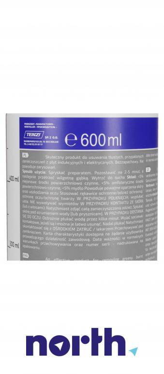 Środek czyszcząco-odtłuszczający do płyty indukcyjnej Tenzi H10/600 1szt. 600ml,3