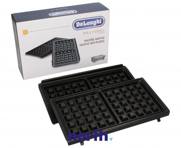 Płyty grzejne do gofrów 2szt. do opiekacza SW12, SW13 MultiGrill easy (DLSK155) DeLonghi 5523110021,0