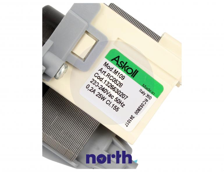 Pompa odpływowa kompletna (silnik + obudowa) do pralki Electrolux 1326630207,3