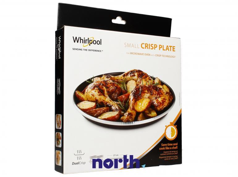 Talerz Crisp 25cm do mikrofalówki Whirlpool AVM250 480131000083,0