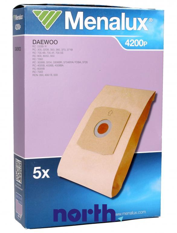 Worki 4200P 5szt. do odkurzacza Daewoo,0
