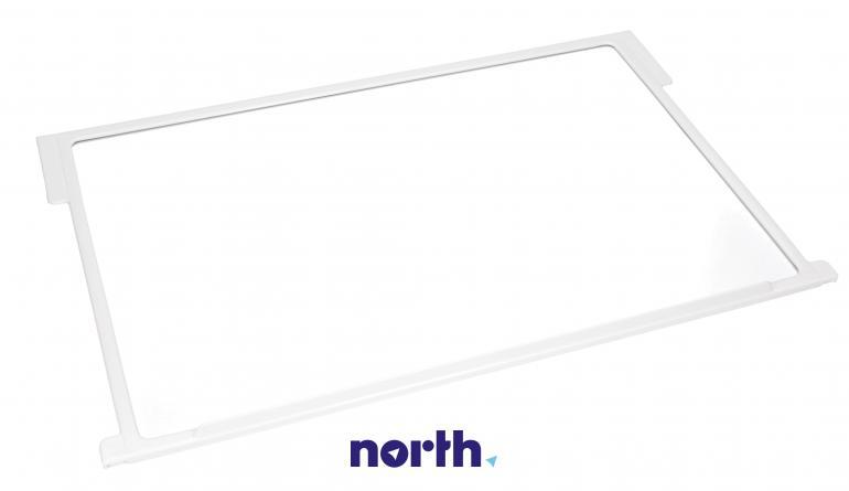 Półka szklana z ramkami do komory chłodziarki do lodówki Gorenje 163336,1