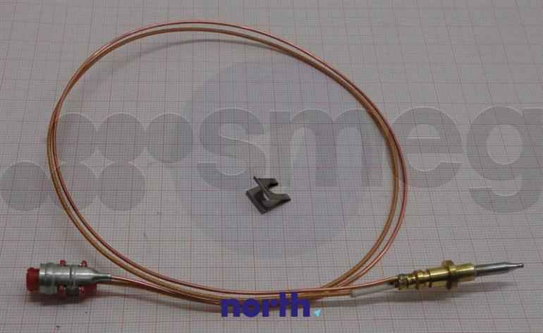Czujnik temperatury palnika średniego do płyty gazowej Smeg 948650189,1