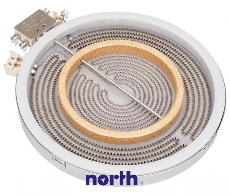 Podwójne pole grzejne (2200W/750W) do płyty grzewczej Siemens 1051213034,0