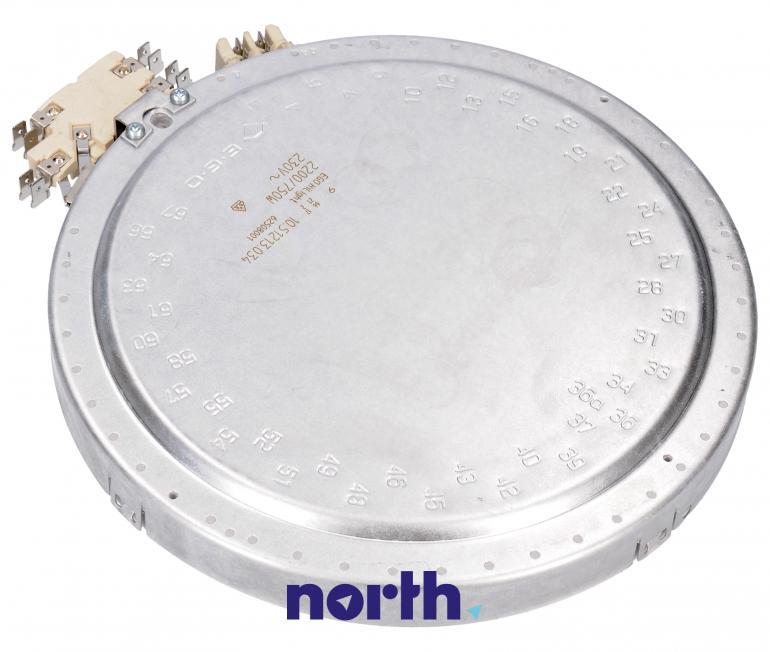 Podwójne pole grzejne (2200W/750W) do płyty grzewczej Siemens 1051213034,1