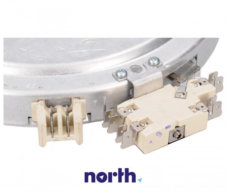 Podwójne pole grzejne (2200W/750W) do płyty grzewczej Siemens 1051213034,2