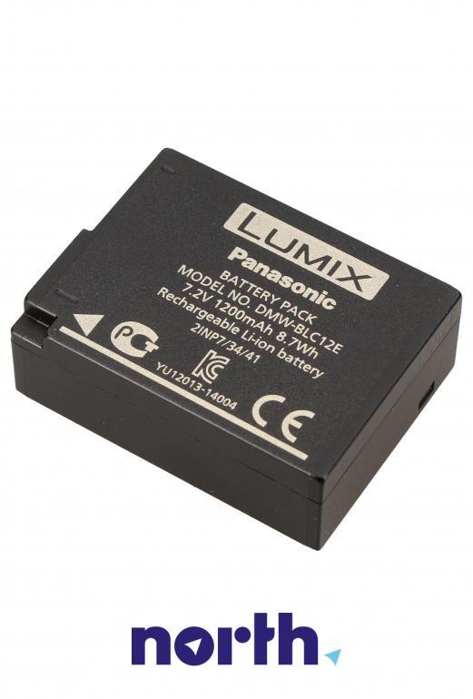 Akumulator 7.2V 1200mAh do kamery Panasonic DMW-BLC12 DMWBLC12E,1