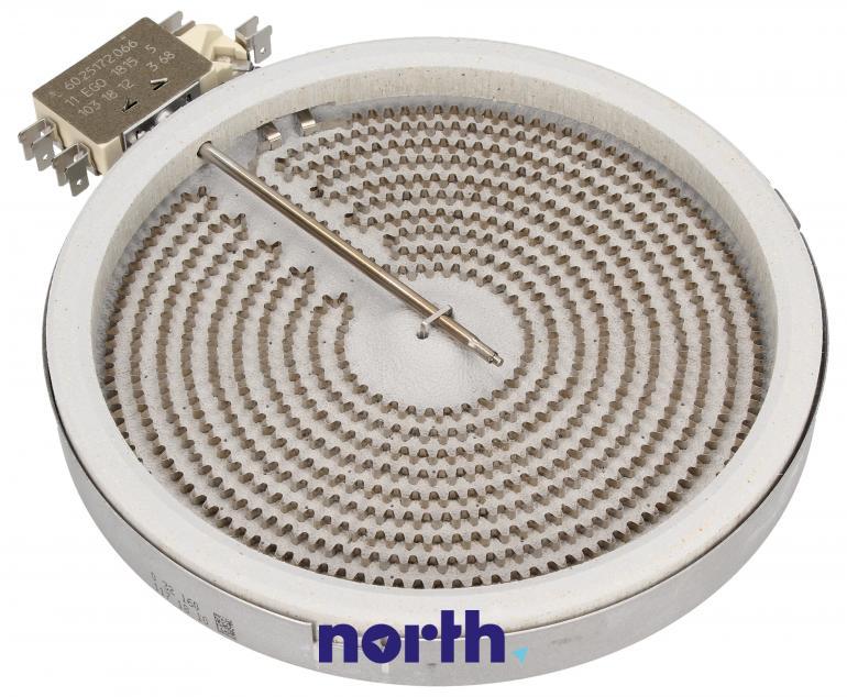 Średnie pole grzejne 1800W 180mm do płyty grzewczej Whirlpool 1058113032,0