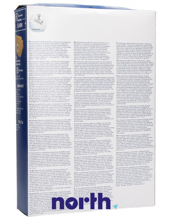 Worki E49N 5szt. do odkurzacza Electrolux,1