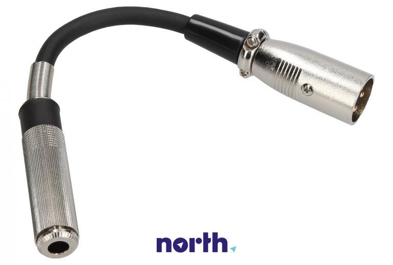 Adapter XLR - Jack 6,3mm mono,0