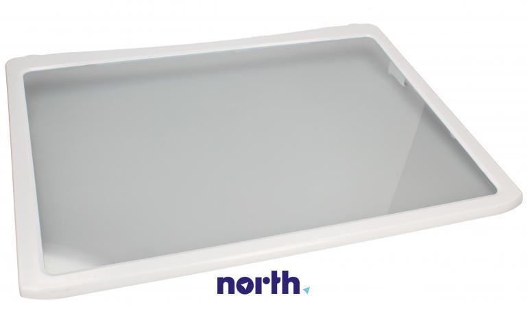 Półka szklana z ramkami do komory chłodziarki do lodówki LG 5027JA2071B,0