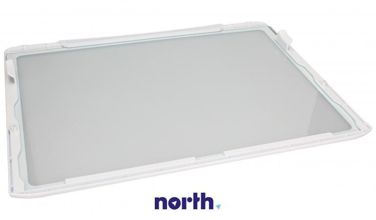 Półka szklana z ramkami do komory chłodziarki do lodówki LG 5027JA2071B,1