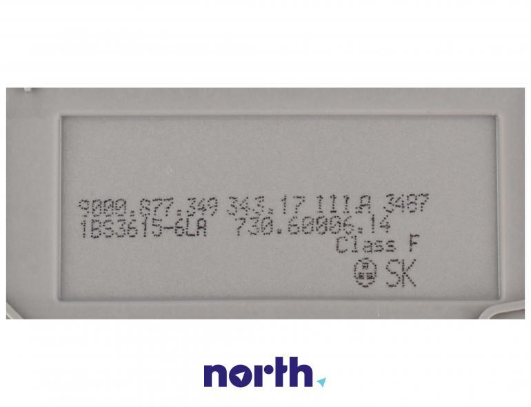 Pompa myjąca z grzałką do zmywarki Bosch 00651956,3