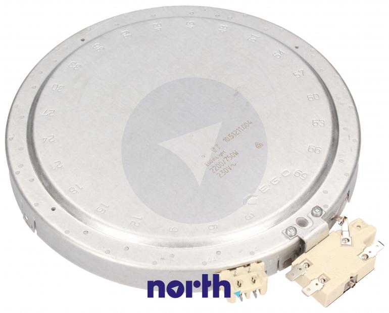 Podwójne pole grzejne (2200W/750W) do płyty grzewczej Seppelfricke HiLight 1051211004,1