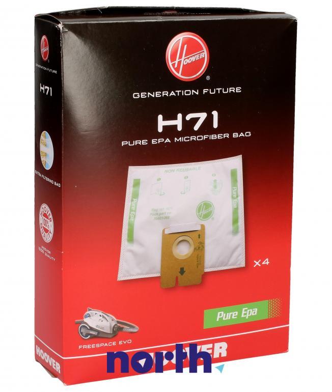 Worki H71 4szt. do odkurzacza Hoover,0