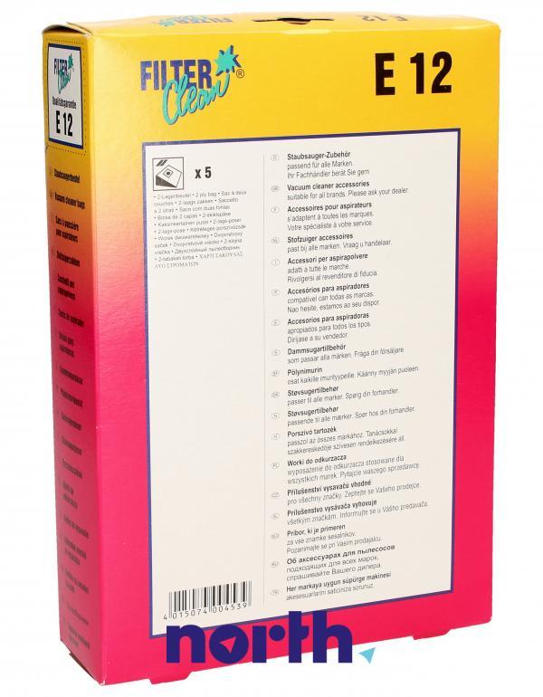 Worki E12 5szt. do odkurzacza Electrolux,1