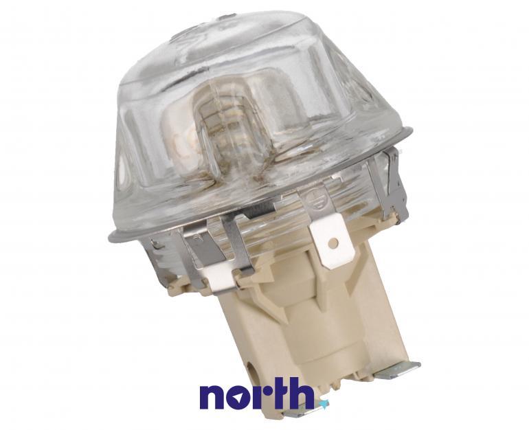 Lampka kompletna z żarówką i osłoną do piekarnika Indesit 482000022698,0