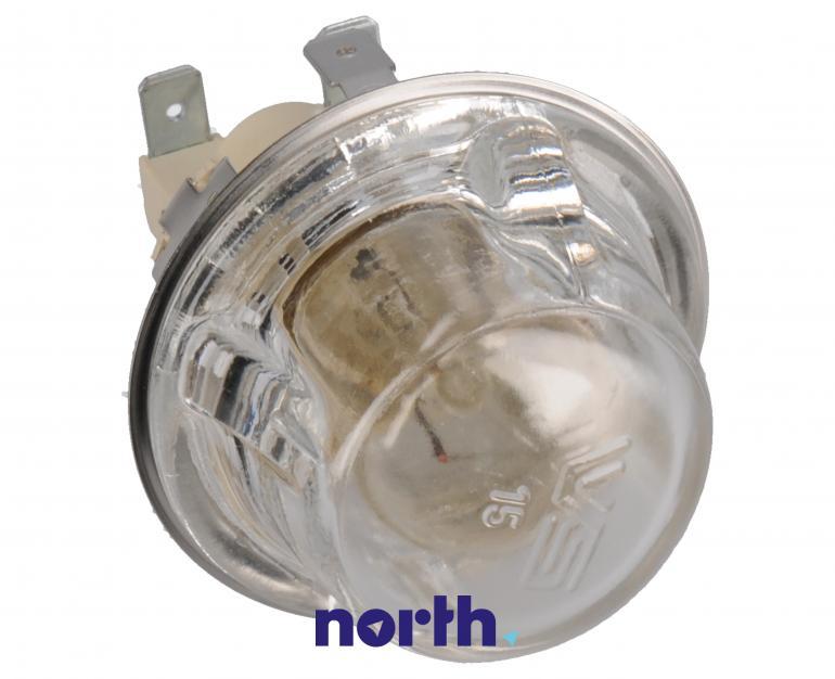 Lampka kompletna z żarówką i osłoną do piekarnika Indesit 482000022698,1