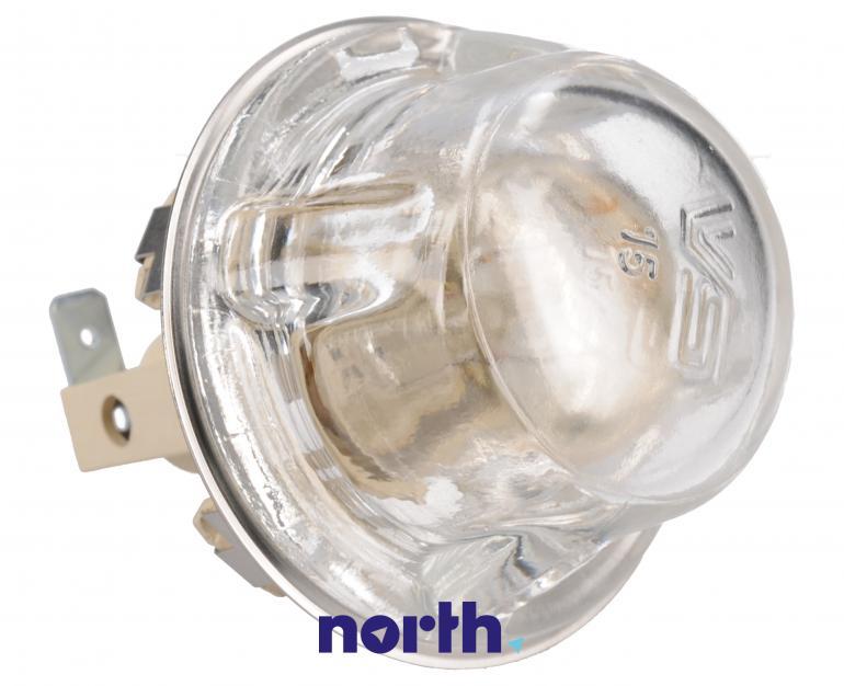 Lampka kompletna z żarówką i osłoną do piekarnika Indesit 482000022698,2