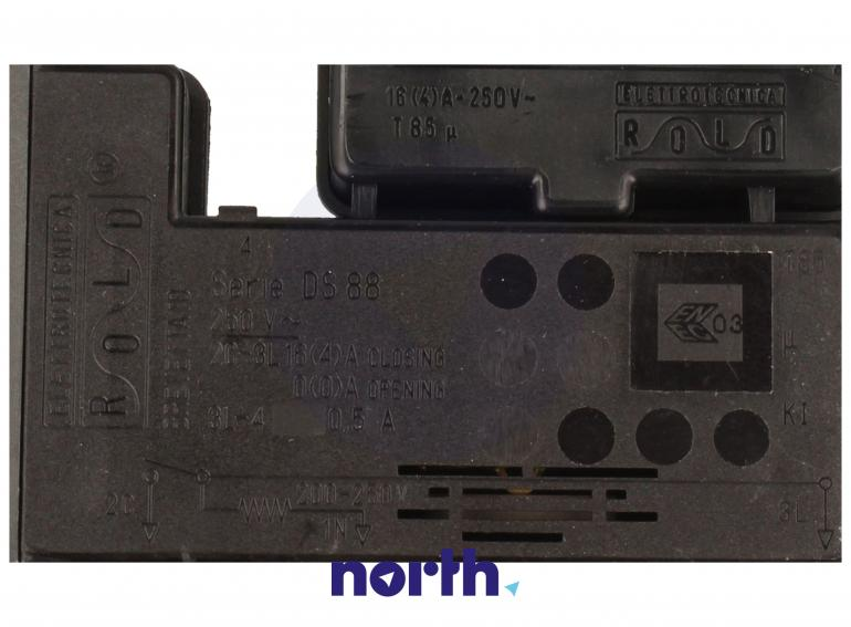 Blokada elektromagnetyczna otwarcia drzwi do pralki Brandt 55X9664,3