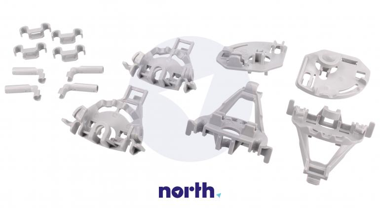 Zaczepy grzebienia kosza dolnego do zmywarki Bosch 00418675,0