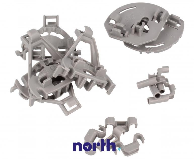 Zaczepy grzebienia kosza dolnego do zmywarki Bosch 00418675,1