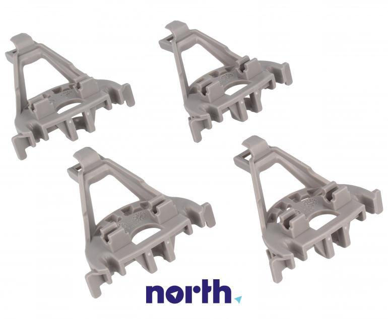 Zaczepy grzebienia kosza dolnego do zmywarki Bosch 00418675,2