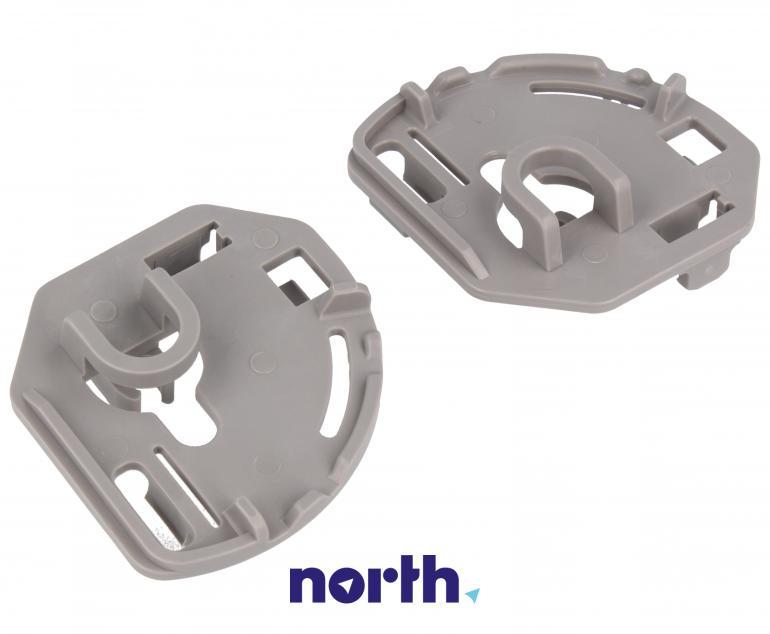 Zaczepy grzebienia kosza dolnego do zmywarki Bosch 00418675,4