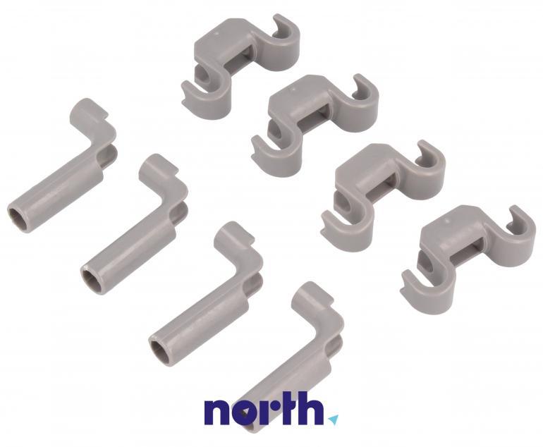 Zaczepy grzebienia kosza dolnego do zmywarki Bosch 00418675,6