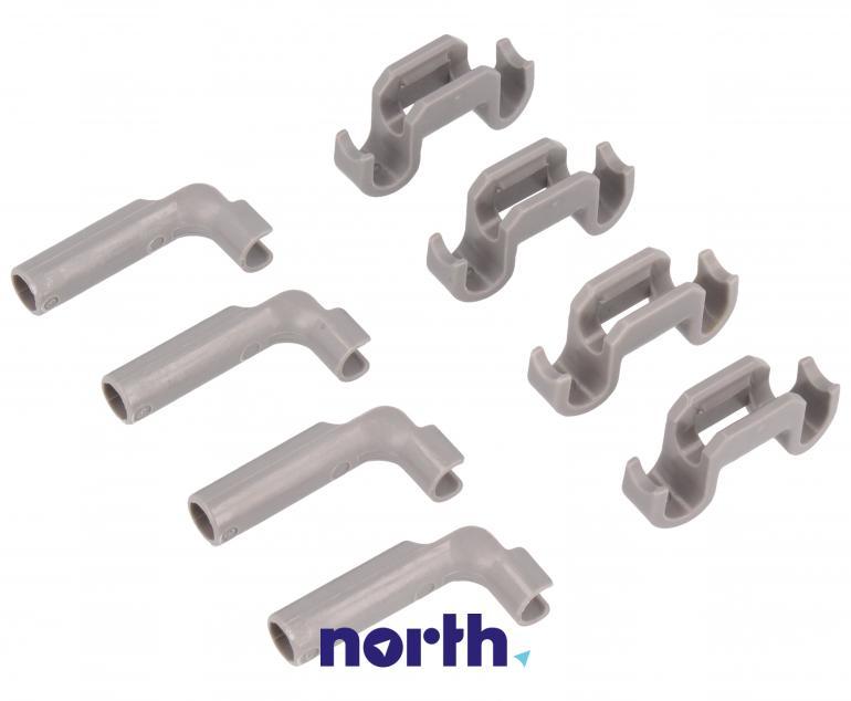 Zaczepy grzebienia kosza dolnego do zmywarki Bosch 00418675,7