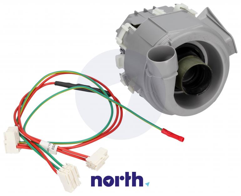 Pompa myjąca z grzałką do zmywarki Siemens 00654575,0