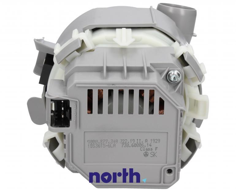 Pompa myjąca z grzałką do zmywarki Siemens 00654575,4