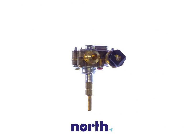 Zawór palnika średniego do płyty gazowej Indesit 482000028509,1