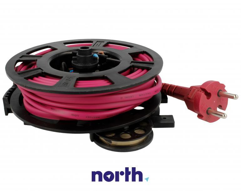 Zwijacz kabla z kablem zasilającym i wtyczką do odkurzacza Hoover 48002622,2