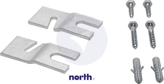 Uchwyt stabilizujący stopkę do pralki Bosch WMZ2200 00493529,2