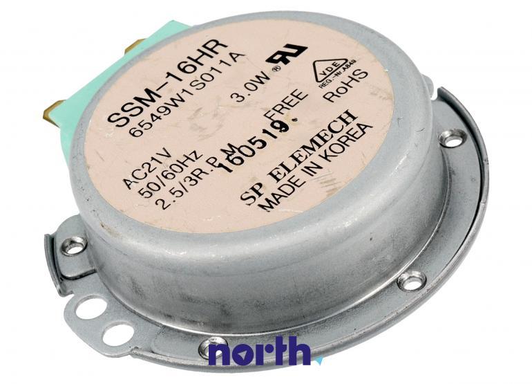 Silnik napędowy talerza do mikrofalówki LG SSM-16HR 6549W1S011A,0