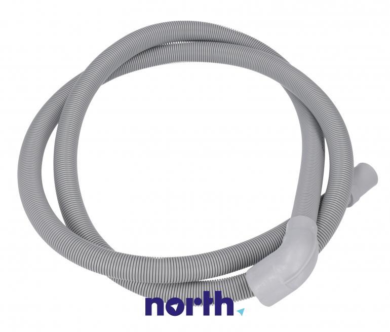 Wąż odpływowy 30x17mm 2m do pralki Indesit 482000022764,0