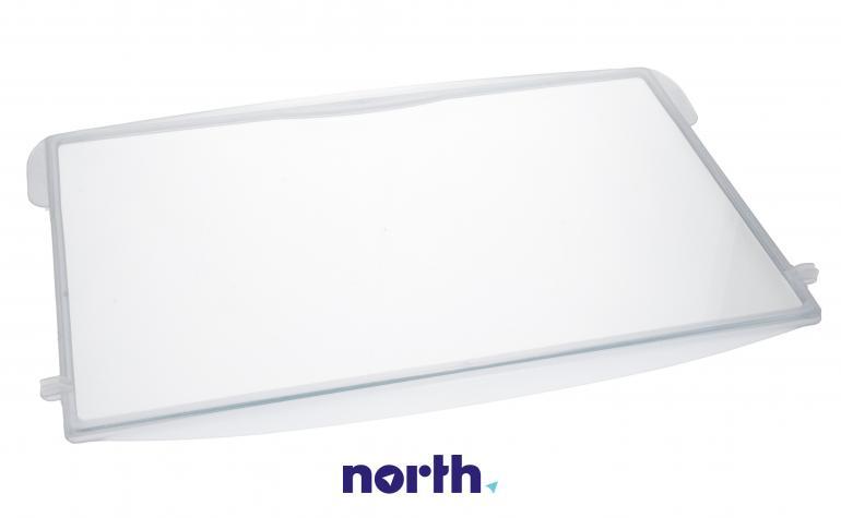 Półka szklana z ramkami do komory chłodziarki do lodówki Whirlpool 481245088214,0