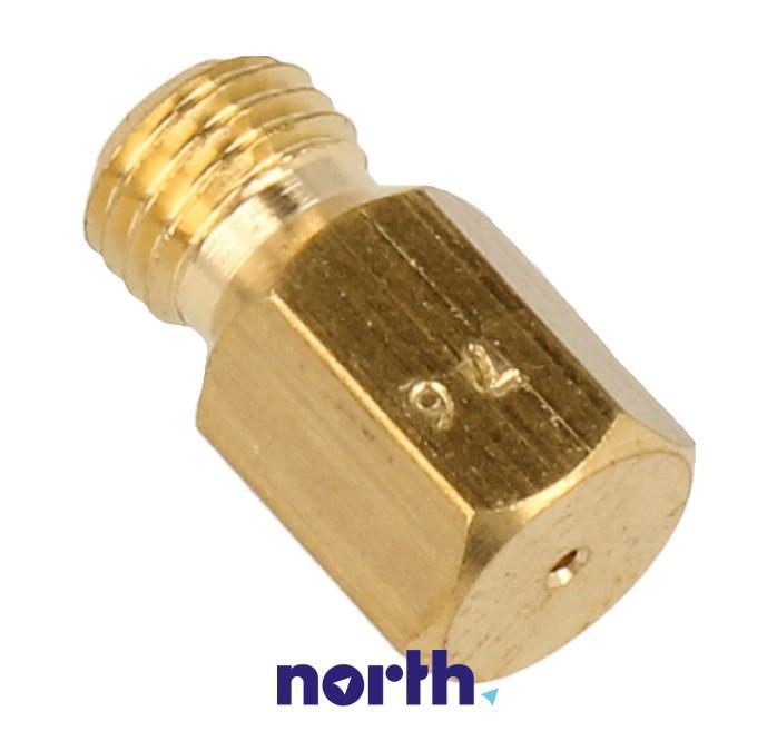 Dysza gazowa 0.76mm do płyty gazowej Smeg 909010391,0