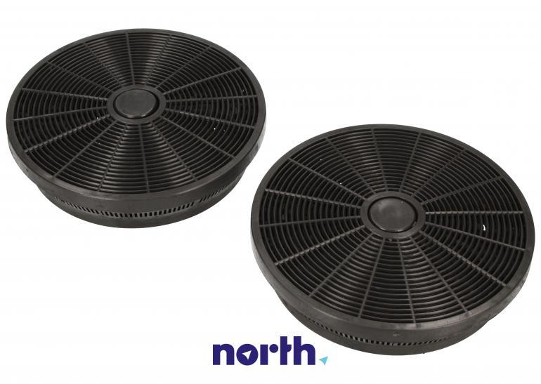 Filtr węglowy okrągły 9179183012 do okapu Beko 14.9cm,1