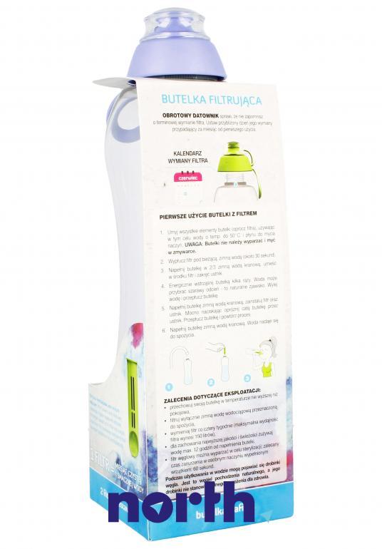 Butelka filtrująca DAFI 0.7l lawendowa,1