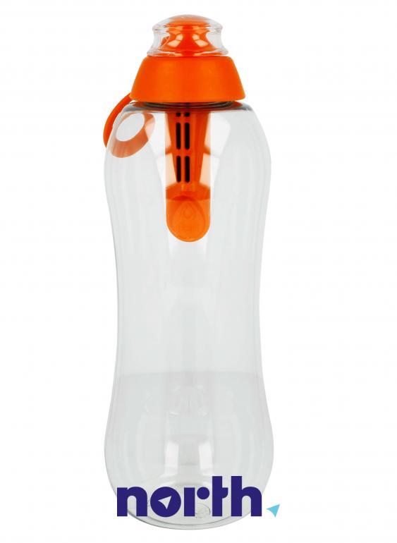 Butelka filtrująca DAFI 0.7l pomarańczowa,2