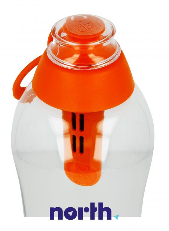 Butelka filtrująca DAFI 0.7l pomarańczowa,4
