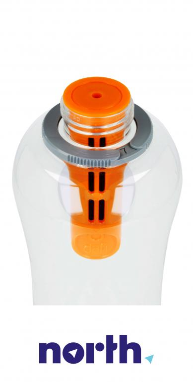 Butelka filtrująca DAFI 0.5l pomarańczowa,6