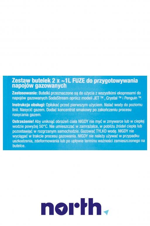 Butelka do saturatora SODA STREAM,4