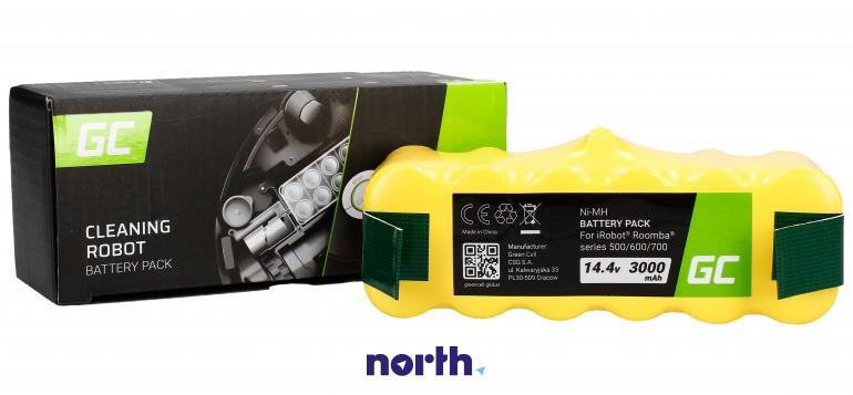 Akumulator (3000mAh) PT09 do robota sprzątającego iRobot Roomba 500 600 700 800,0