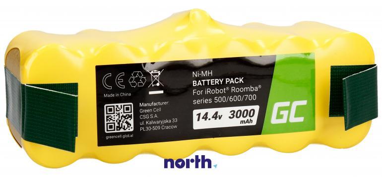 Akumulator (3000mAh) PT09 do robota sprzątającego iRobot Roomba 500 600 700 800,1