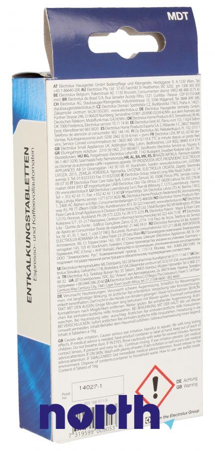 Tabletki odkamieniające do ekspresu Electrolux MDT 9001666719,1