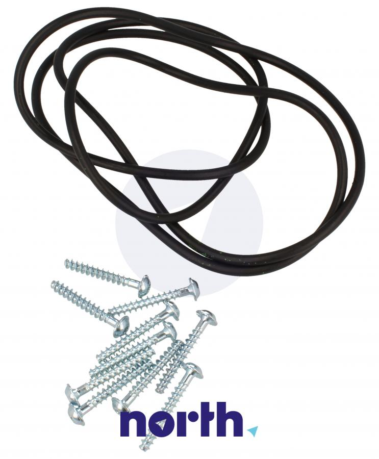 Uszczelka zbiornika + śruby do pralki Bosch 12010820,0