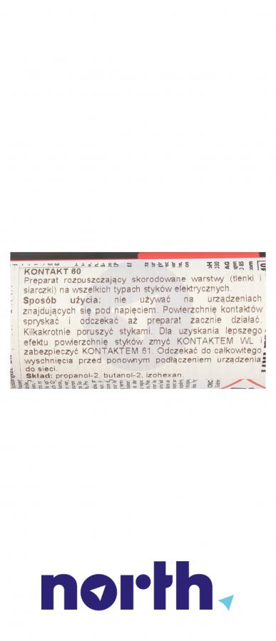 Spray Kontakt Chemie 60-KONTAKT 60KONTAKT 100ml,3